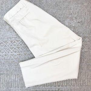 J.crew size 10 Slim crop Ruby pant stretch twill